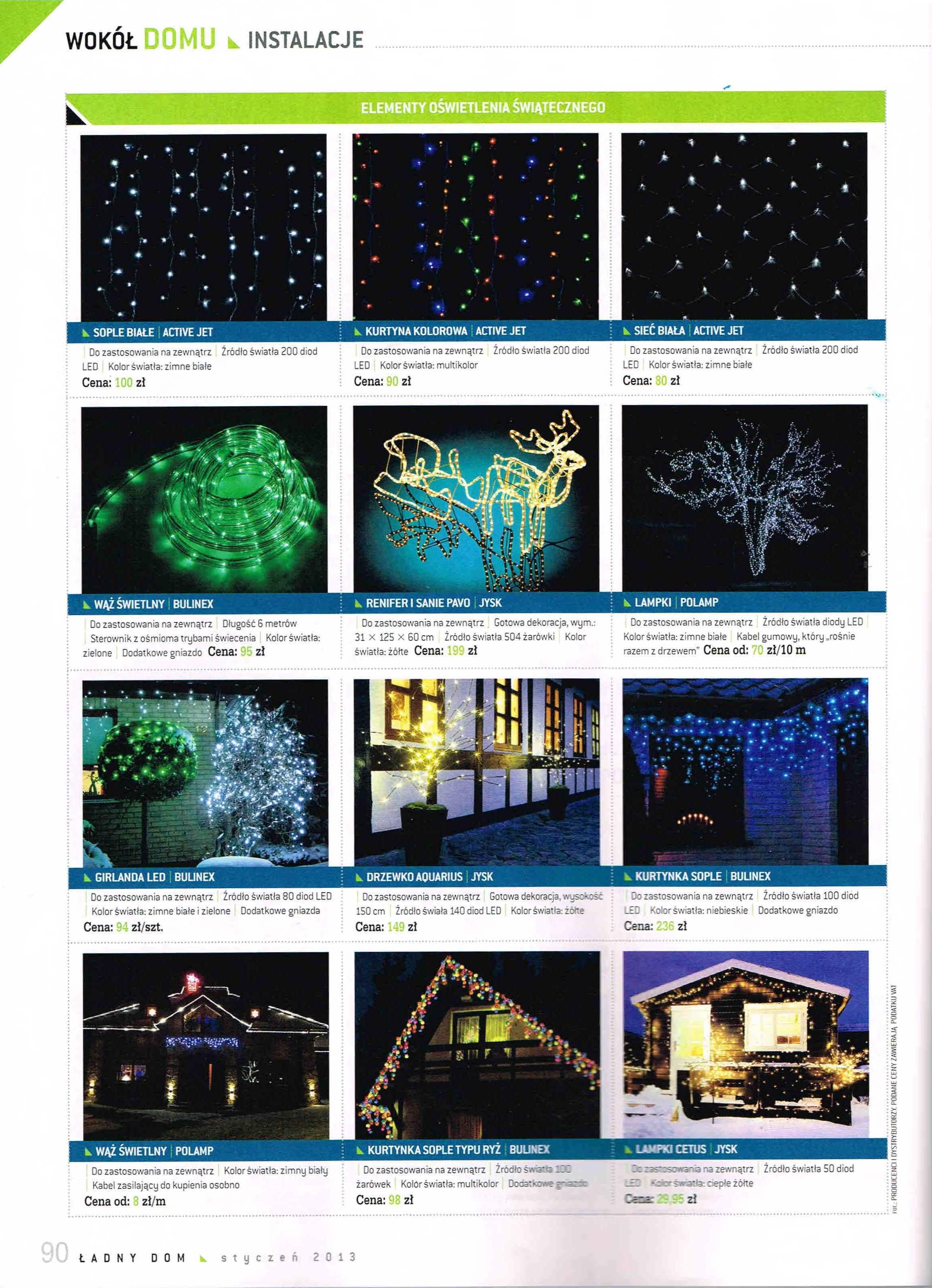 Polamp Komponenty Elektrotechniczne Oświetlenie świąteczne