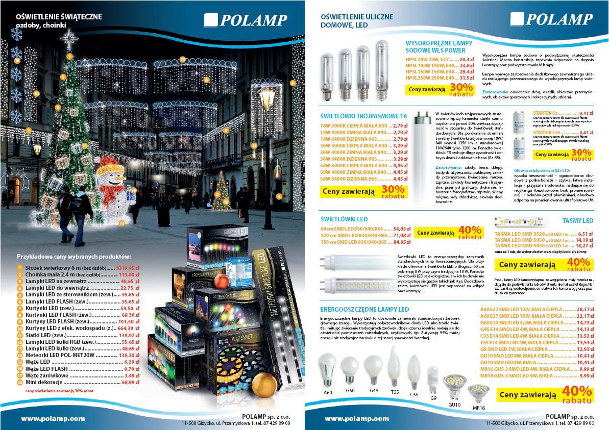 Polamp Komponenty Elektrotechniczne Aktualności