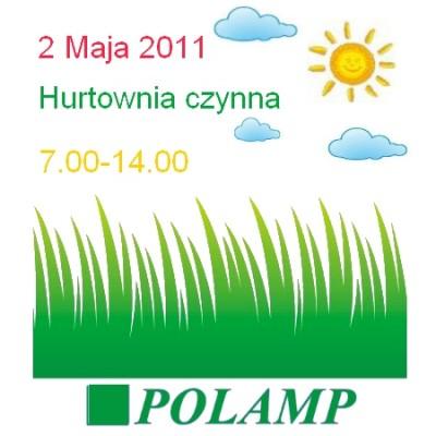 2.05.2011 Zmiana godzin pracy
