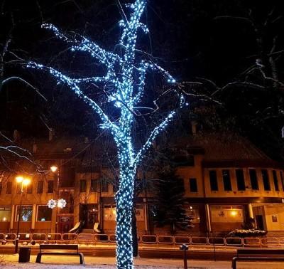Mieszkańcy Giżycka zadowoleni z oświetlenia Miasta